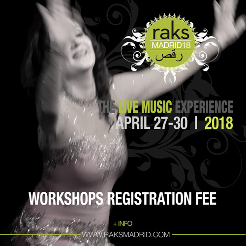 raks madrid 2018 workshops registration