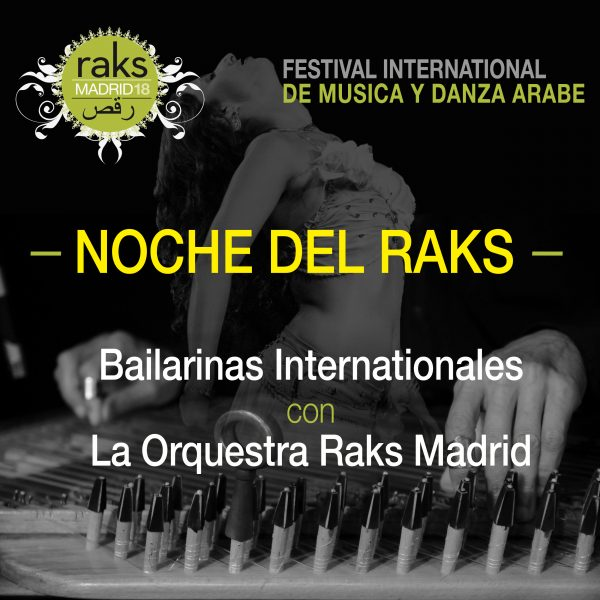 Entradas Raks Madrid